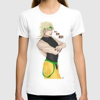 jjba T-shirts featuring USELESS USELESS USELESS! by dggeoffing