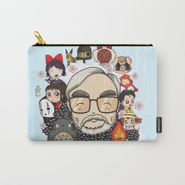 Ghibli, Hayao Miyazaki and friends Carry-All Pouch