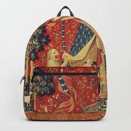 Lady and Unicorn Backpack