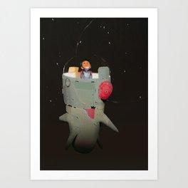 Space kiddo Art Print