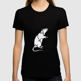 A Rat Standing on its legs Sniffing T-shirt
