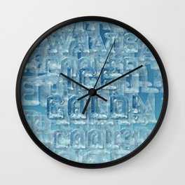 ICE COLD! Wall Clock