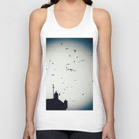 morocco Tank Tops featuring Morocco Rampart by Petrichor Photo