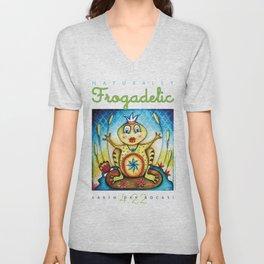 Naturally Frogadelic Unisex V-Neck