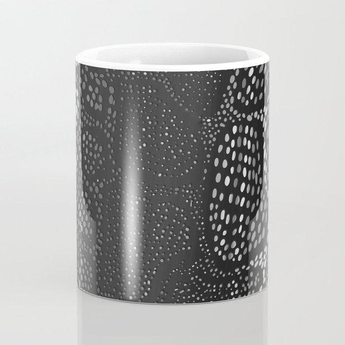Black Snake Skin Coffee Mug