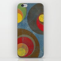 it crowd iPhone & iPod Skins featuring Crowd by Metron