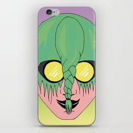 CAPELLI VERDI (NON CI VEDO) iPhone Skin