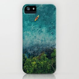 Kayaking in The Philippines  iPhone Case