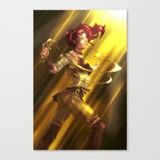 The Last Keeper of the Word Canvas Print