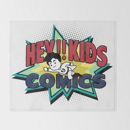 HEY!! KIDS COMICS Throw Blanket