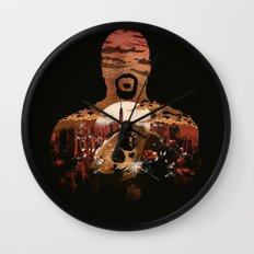 Power Man Wall Clock