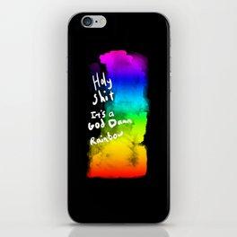 Holy Shit it's a God Damn Rainbow iPhone Skin