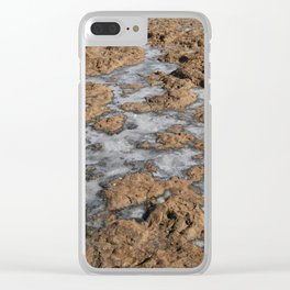 Salt pools Clear iPhone Case
