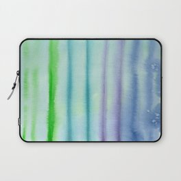Blue vibes #3 || watercolor Laptop Sleeve