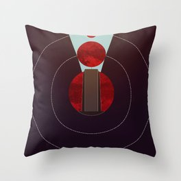 2001: A Space Odyssey - The Monolith Tribute Throw Pillow