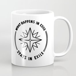 what happens in exile Coffee Mug
