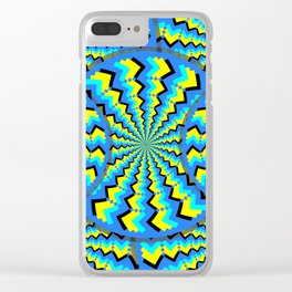 Hacking Visual System Optical Illusion Clear iPhone Case