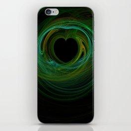 Valentine's Fractal VIII - Dark iPhone Skin