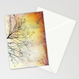november gold Stationery Cards