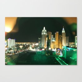 Window to Vegas Canvas Print