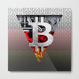 bitcoin germany Metal Print