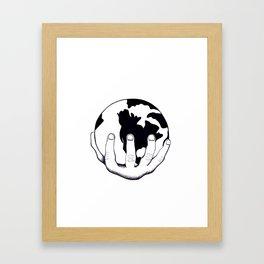 Imperialism Framed Art Print