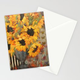 Sunflowers II Stationery Cards