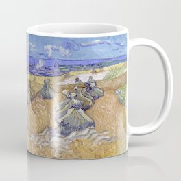 Vincent Van Gogh - Wheat Fields With Reaper, Auvers Coffee Mug