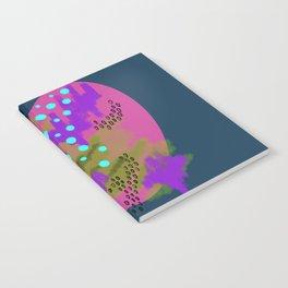 Catalina Blue Circles & Scribbles Notebook