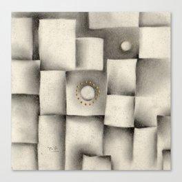 Quantum plate Canvas Print