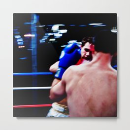 Fight : Eye of the Tiger Metal Print