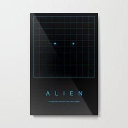 Run in space Metal Print