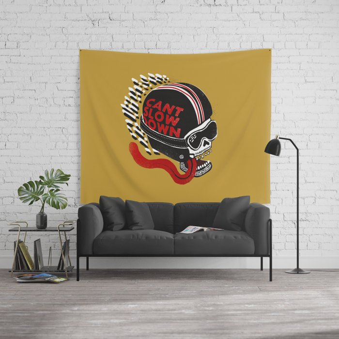 Can't Slow Down Wall Tapestry