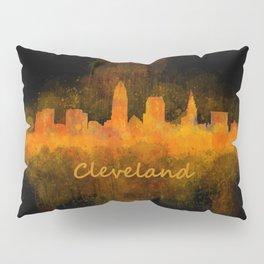 Cleveland City Skyline Hq V4 Pillow Sham