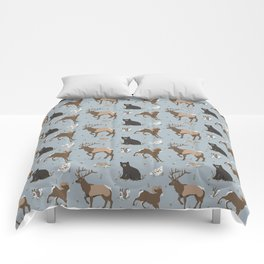 Rocky Mountain Critters Comforters