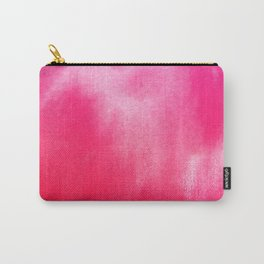 Watercolor Pink Carry-All Pouch