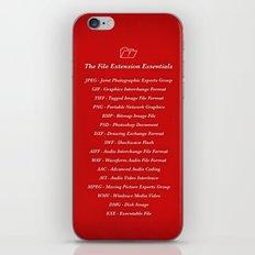 Essentials iPhone & iPod Skin