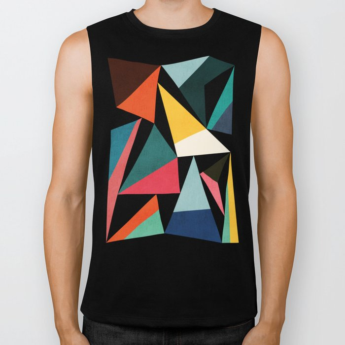 Collection of pointy summit Biker Tank