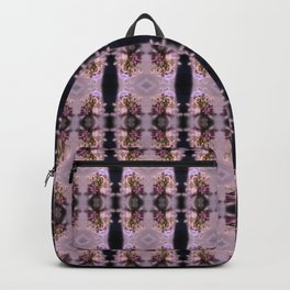 wildflower bouquet, pink pattern Backpack