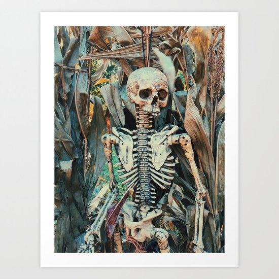 spooky scary Art Print