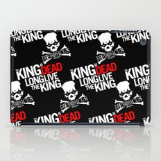 The King is dead. Long live the King. iPad Case