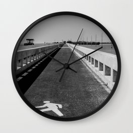 Pit Stop - Florida Keys Wall Clock