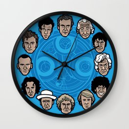 Doc Around the Clock Wall Clock