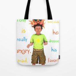 Angryocto - Tony's IceCream Tote Bag