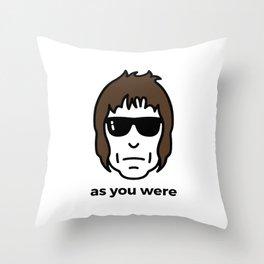 As You Were Throw Pillow