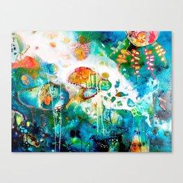 Balcony of the Sea Canvas Print