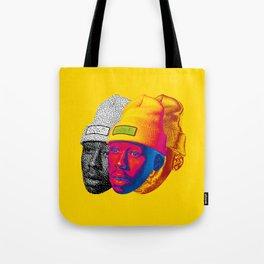 Tyler Glitch Art Tote Bag