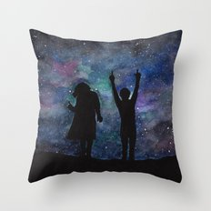 Look at the stars... (Harry Styles and Louis Tomlinson) Throw Pillow