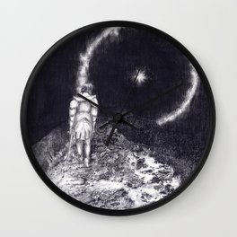 Astral Soldier Wall Clock