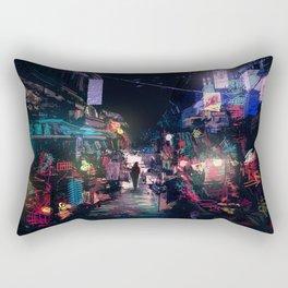 Blues of the Night Rectangular Pillow